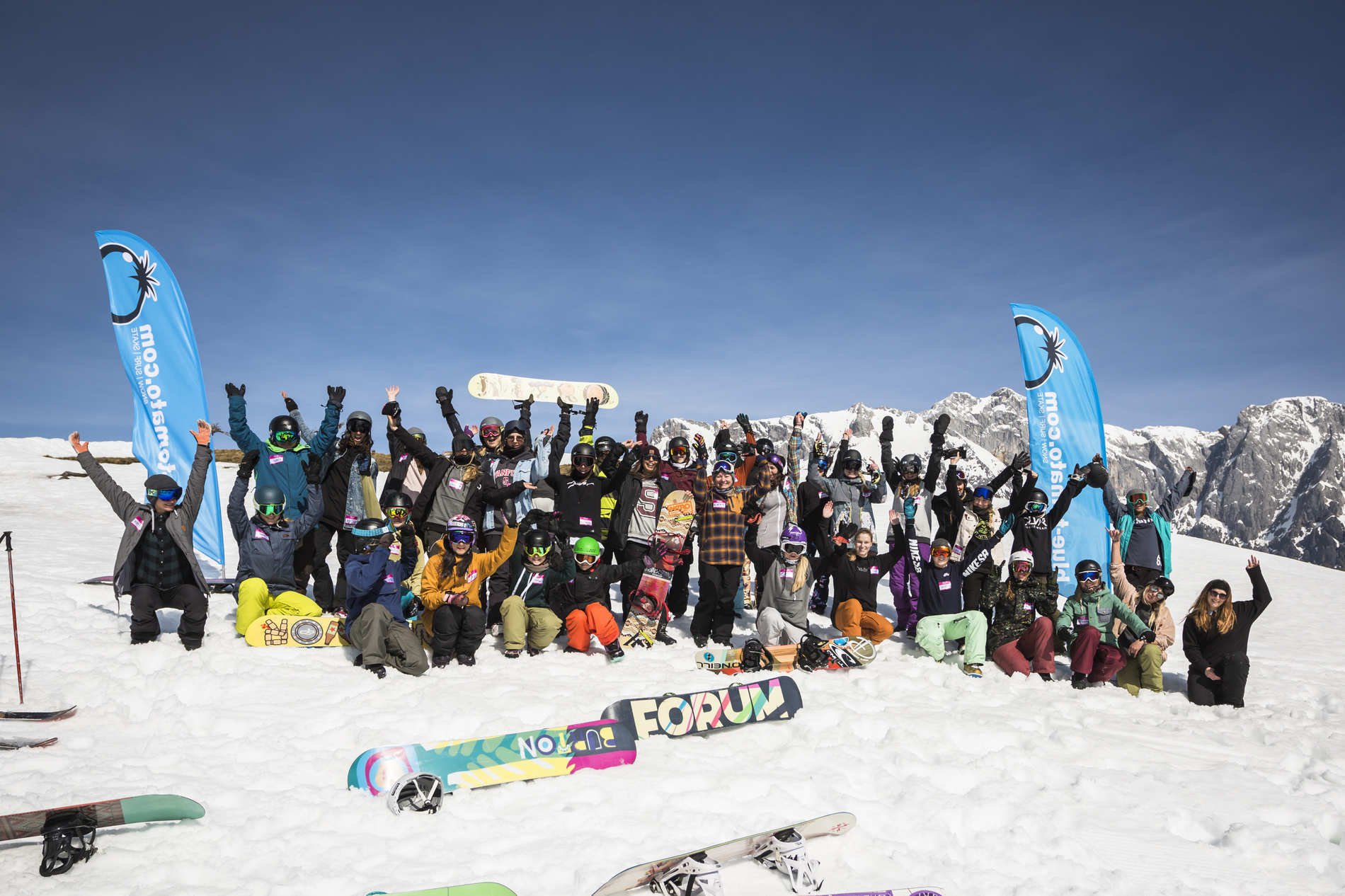 Blue Tomato Girls Day Hochkönig – 24.03.2018