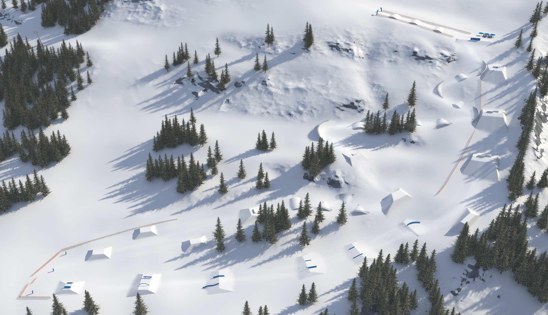 Snowpark Obergurgl Image