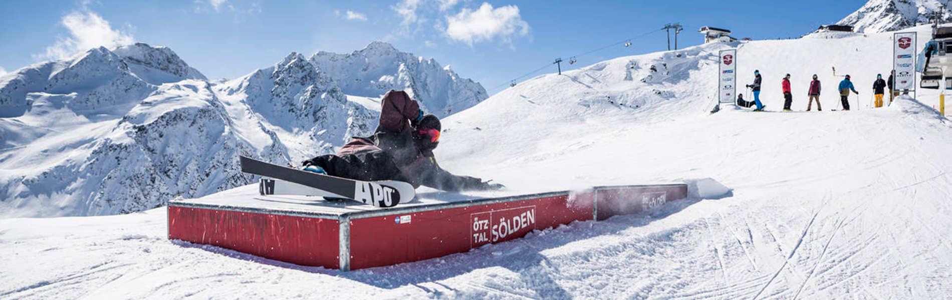 AREA 47 Snowpark Sölden – Home of Creativity and Snow