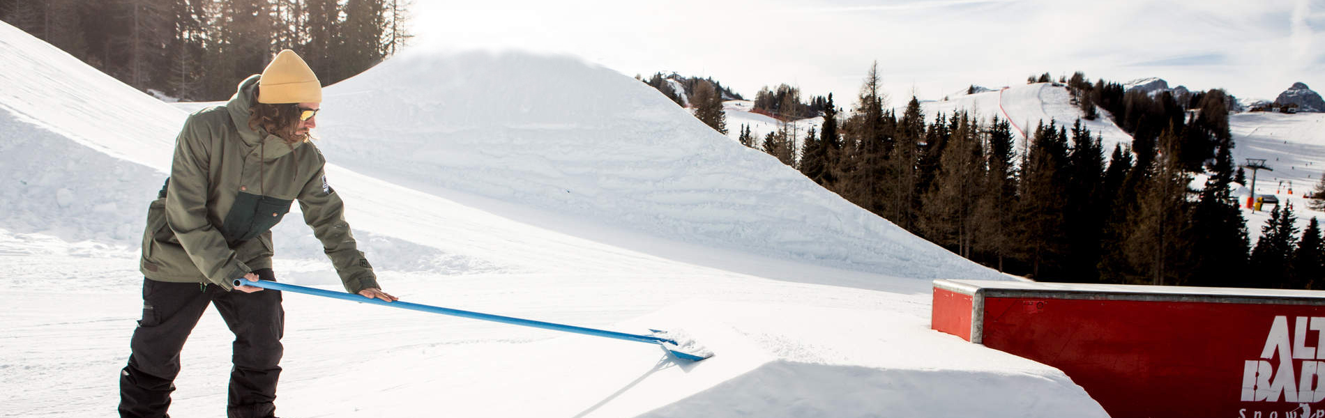 First Line ready – Erstes Wochenend-Setup in Alta Badia