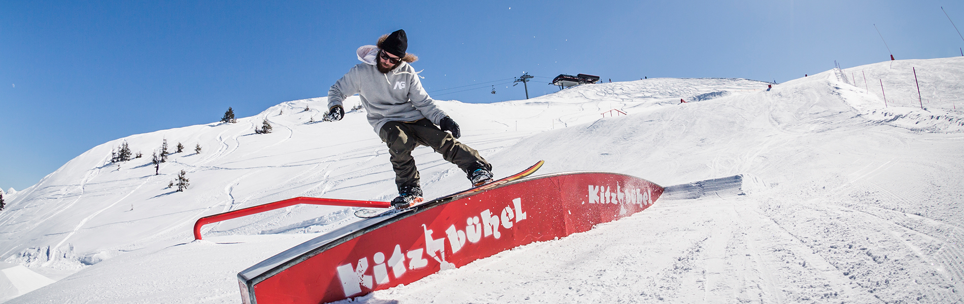 Kicker & Rail Check im Snowpark Kitzbühel