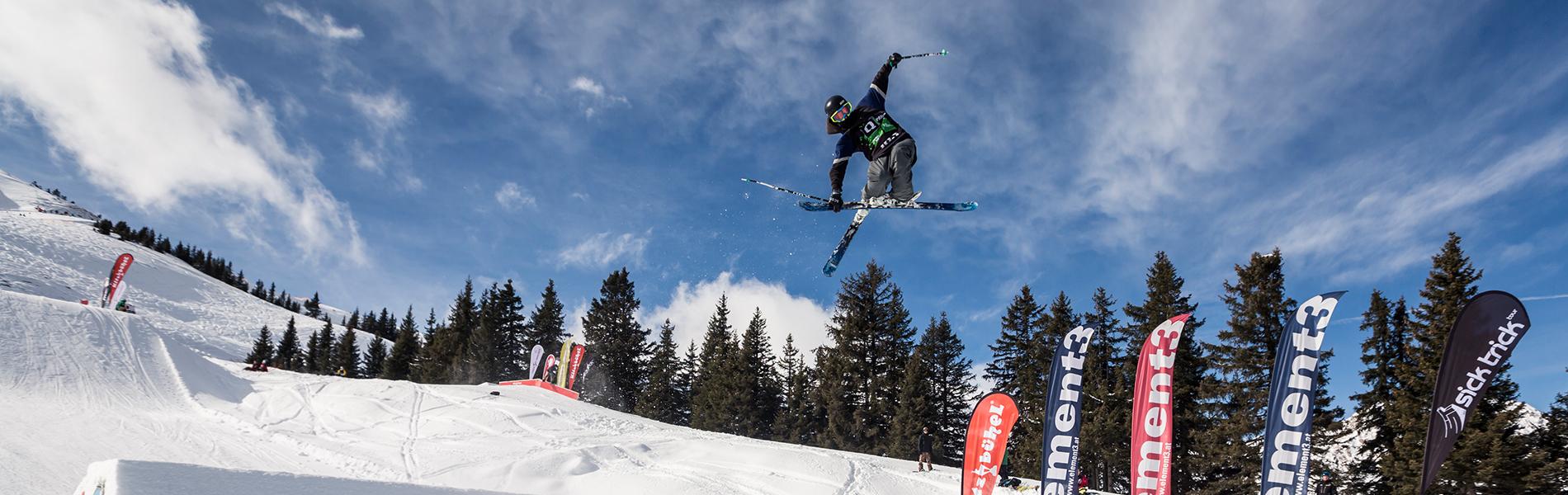 Sick Trick Tour Open 2016: Heiße Schlacht im Snowpark Kitzbühel