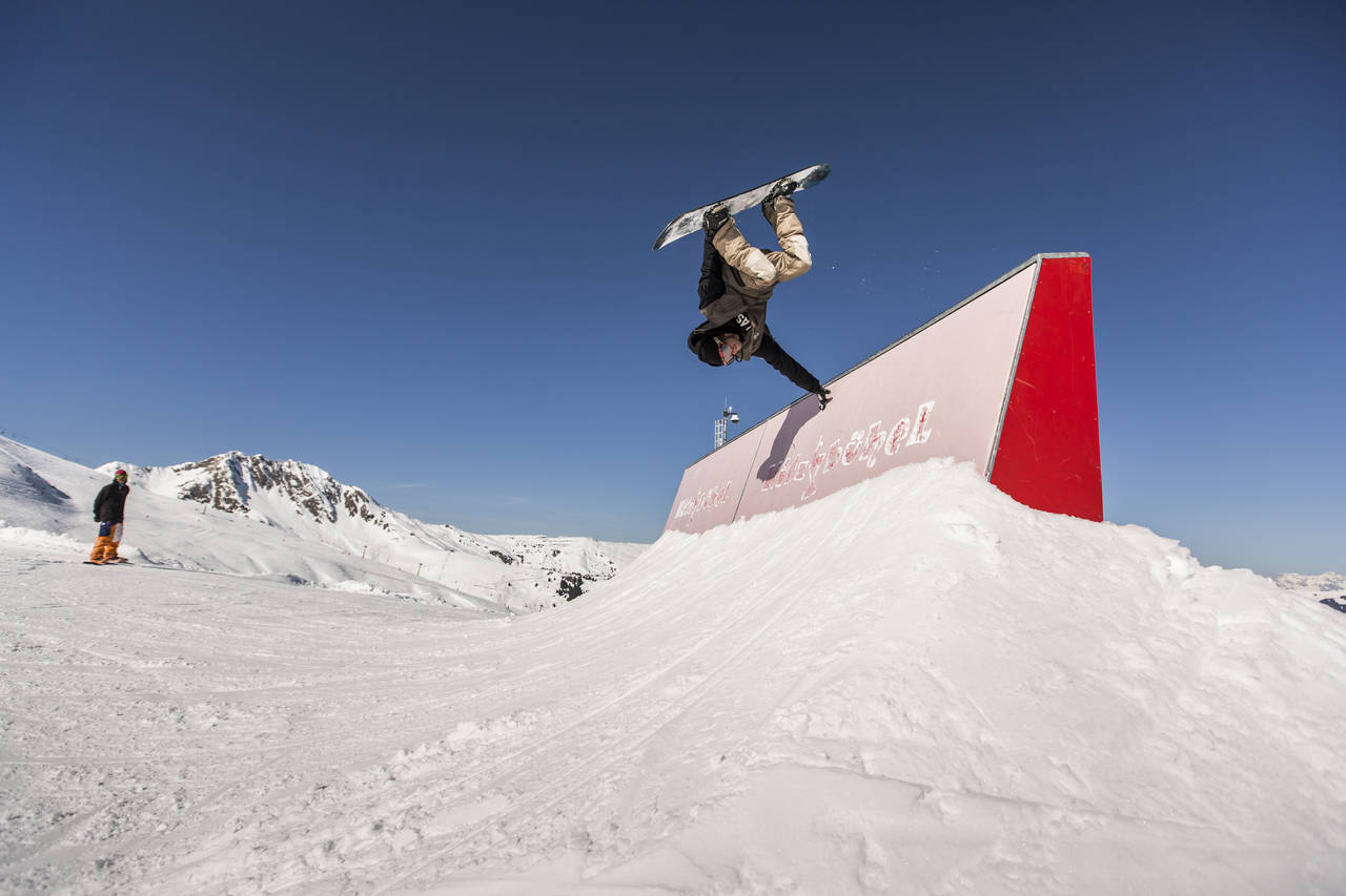 High-Tech at the Snowpark Kitzbühel – Passion, Profession, Perfection