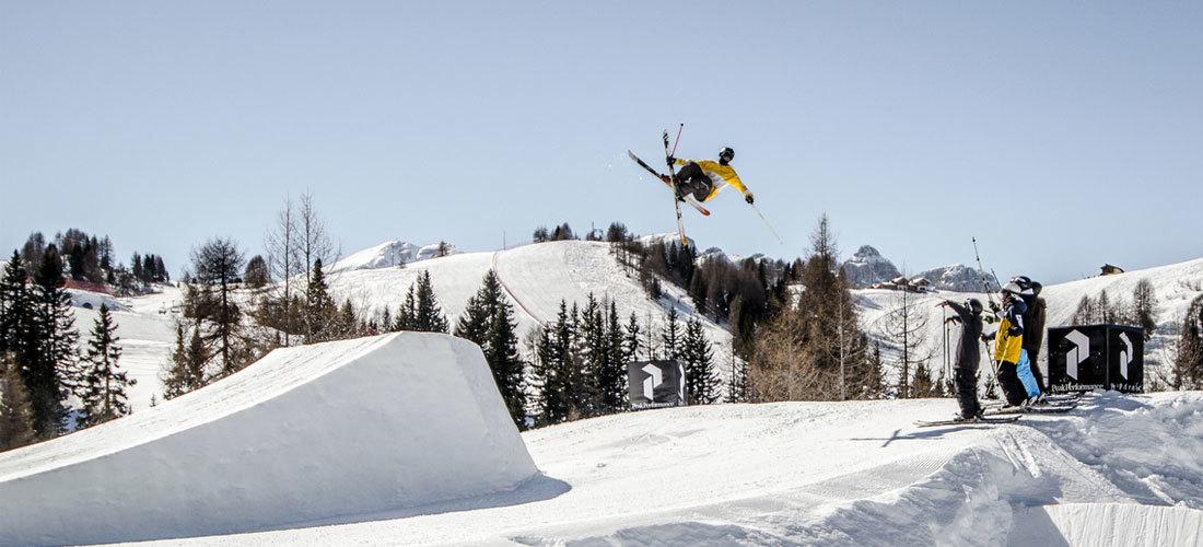 VIP-Procoaching – Progression mit Christof Schenk im Snowpark Alta Badia