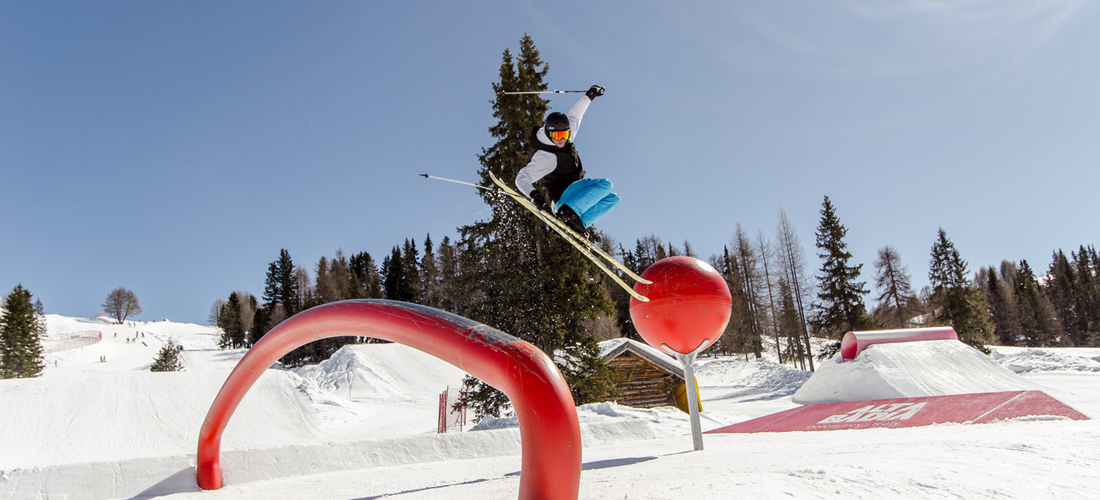 Snowpark Alta Badia – Sunny Rides in the Dolomites