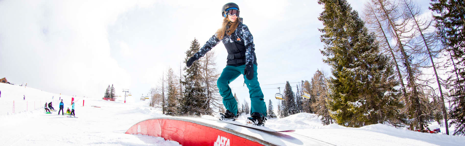 Dolce Vita? No! – Ausgiebige Park-Action bei der Girls Shred Session Alta Badia