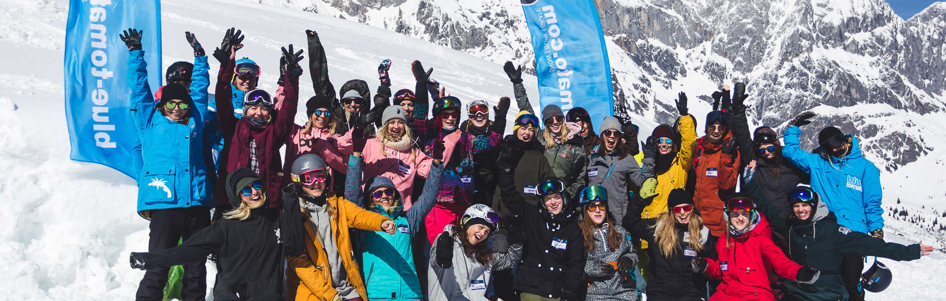 Blue Tomato Girls Day Hochkönig – Shredqueens own the park!