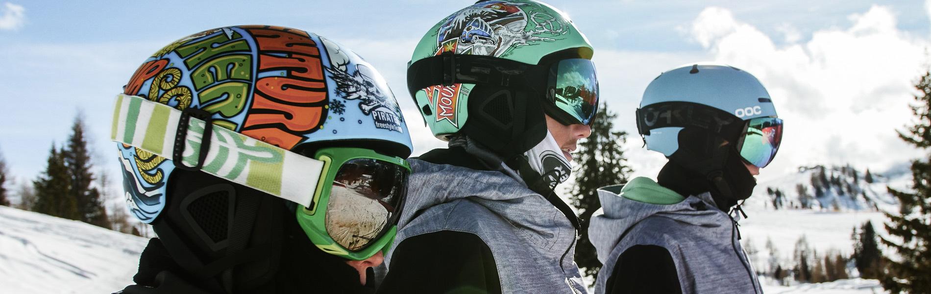 Die jungen Piraten des Snowpark Alta Badia