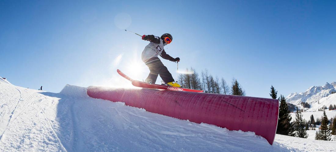 Primo setup nello Snowpark Alta Badia – Merry Shredmas!