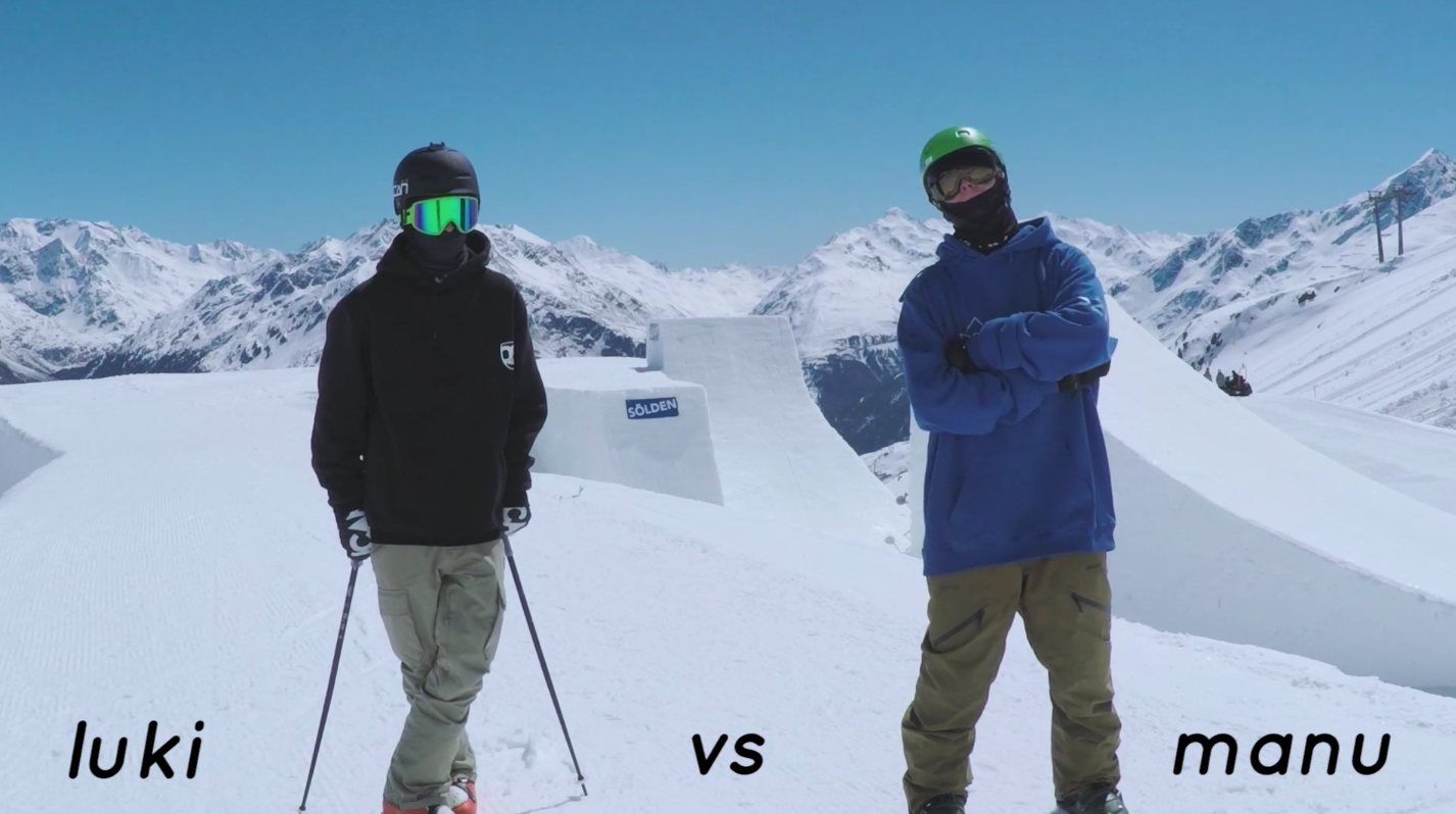 "GoPro Game of Snow – Trick Contest on Sölden's ""The Wedge"""