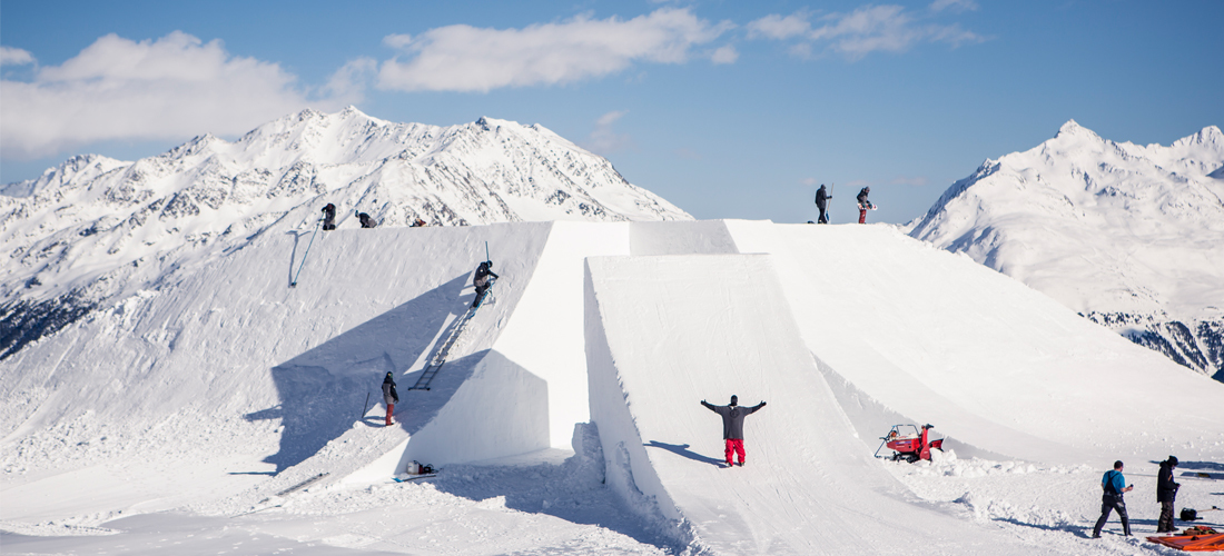 Sölden's THE X – Taking a Look Behind the Scenes of 2015's Media Highlight