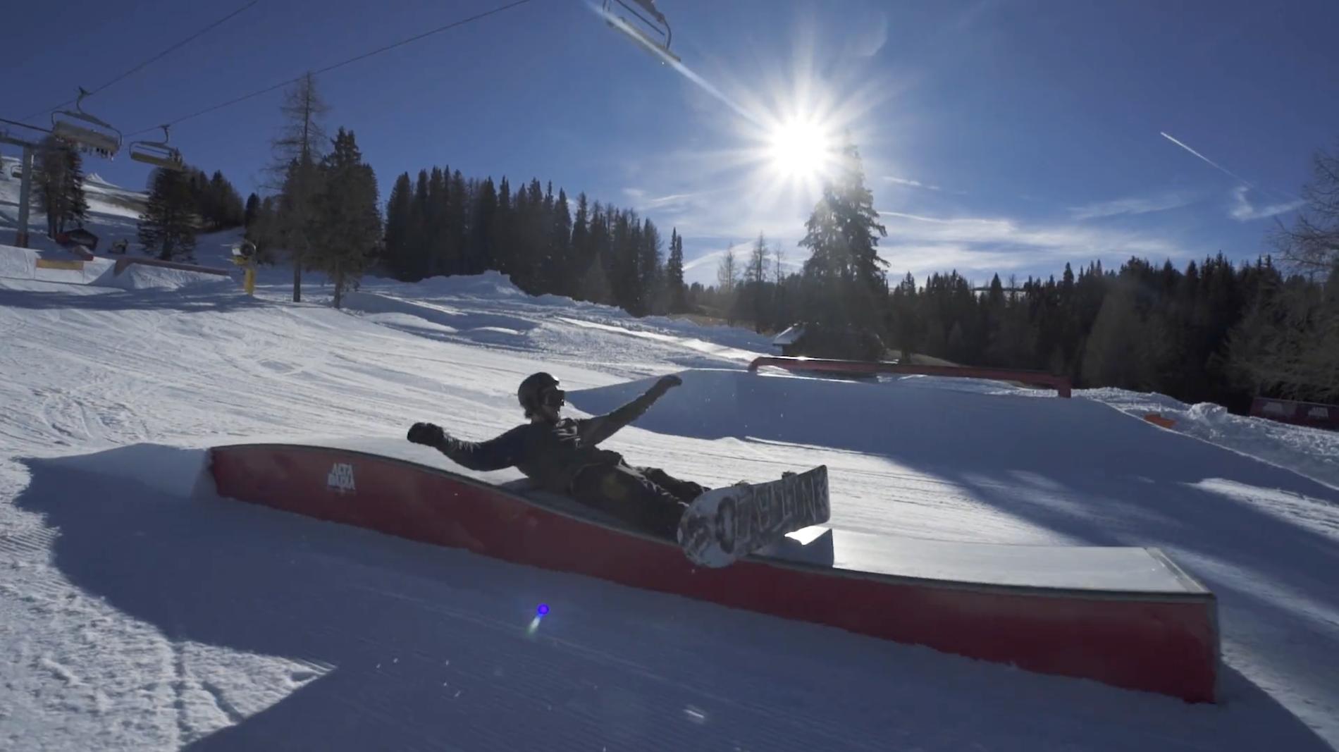 Snowpark Alta Badia – Fun Lines mit Marco Grigis – 26/12/2016