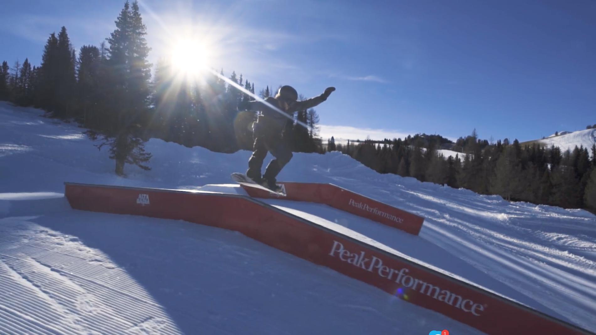 Snowpark Alta Badia – Rail Line feat. Marco Grigis – 26/12/2016