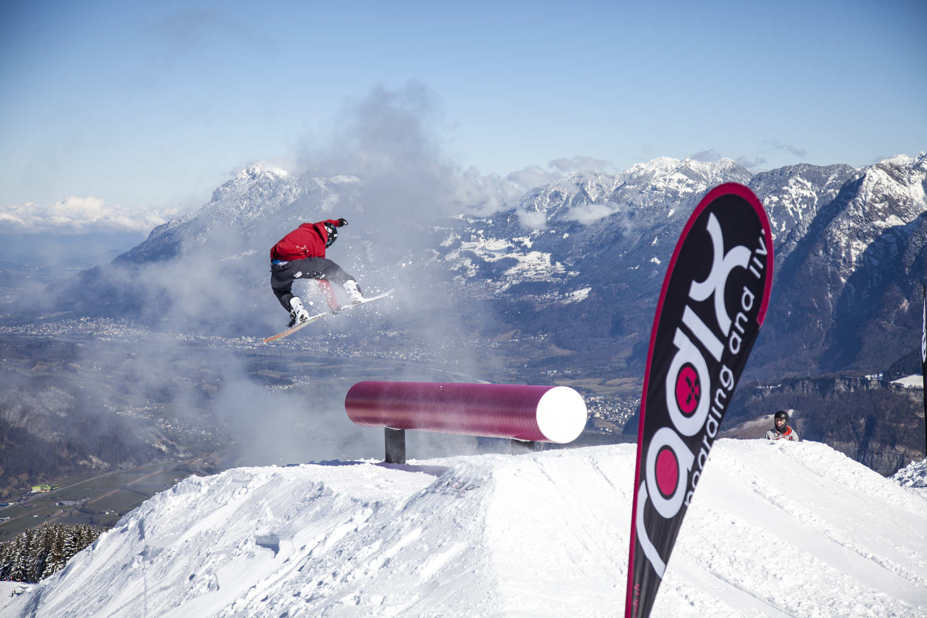 Snowboarder's High at Riderpark Pizol – Season Teaser 2017/18