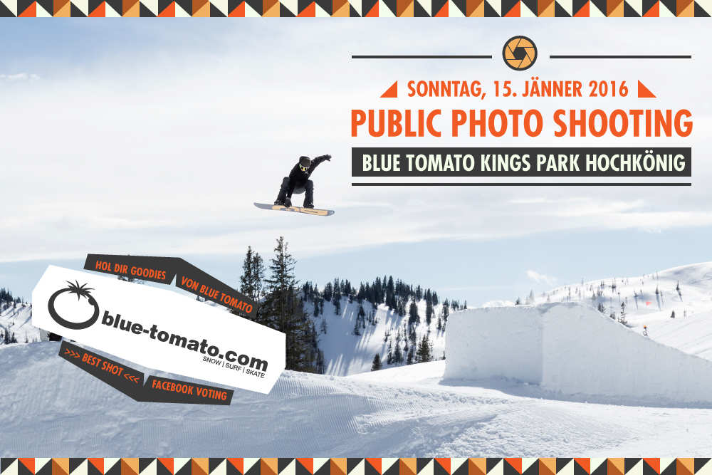 Public Photo Shooting im BlueTomato Kings Park: Hol dir Goodies von Blue Tomato!