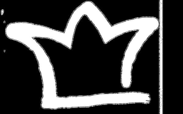 Hochkönig White Outline