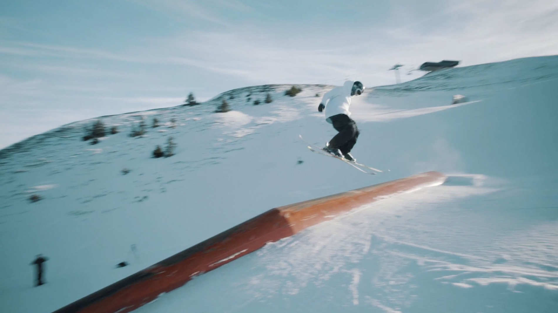 Tim Van Dyck at Snowpark Kitzbühel - Season 2016/17