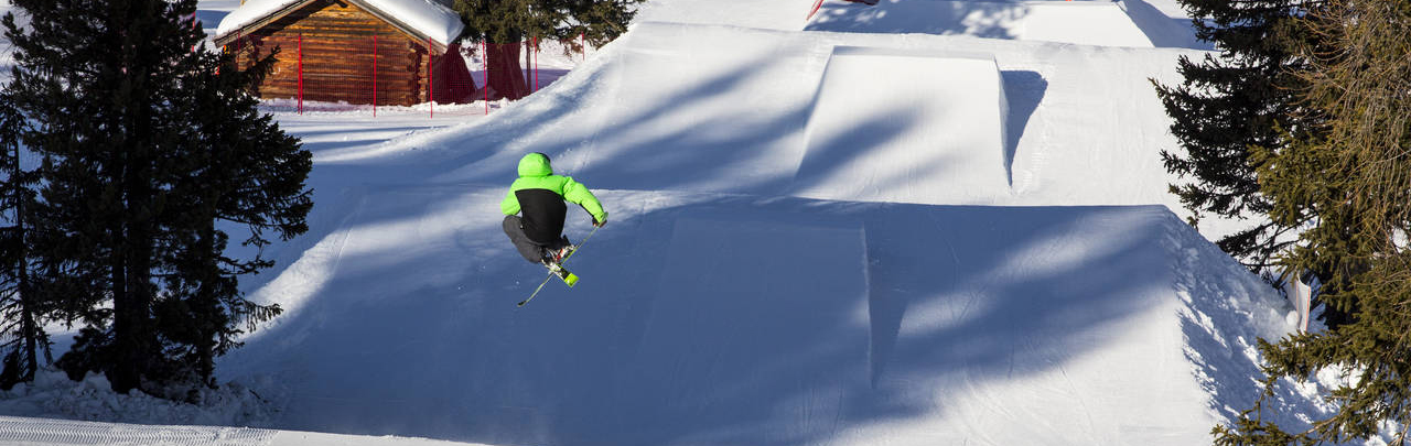 Spin to win allo Snowpark Alta Badia – La medium kicker line è pronta