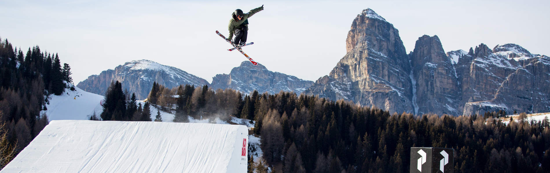 Back-to-back Triple im Snowpark Alta Badia