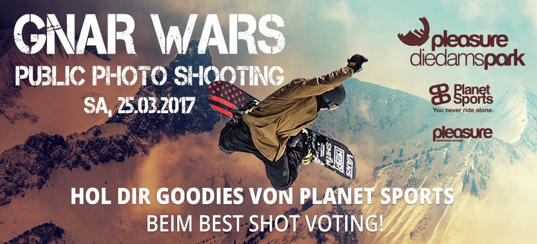 GNAR WARS: Das galaktische Planet Sports Public Photo Shooting