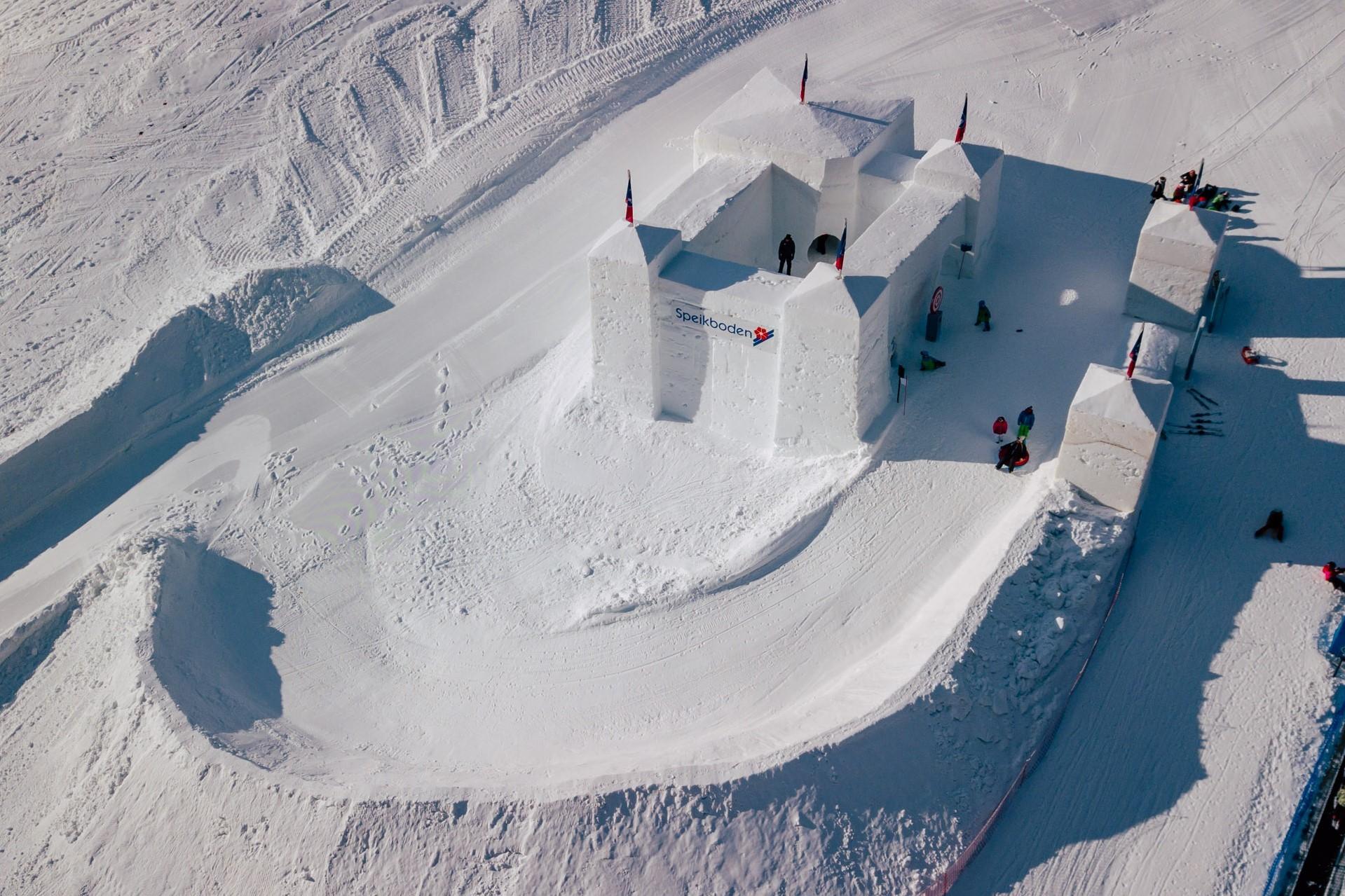 SNOWCASTLES - HISTORY