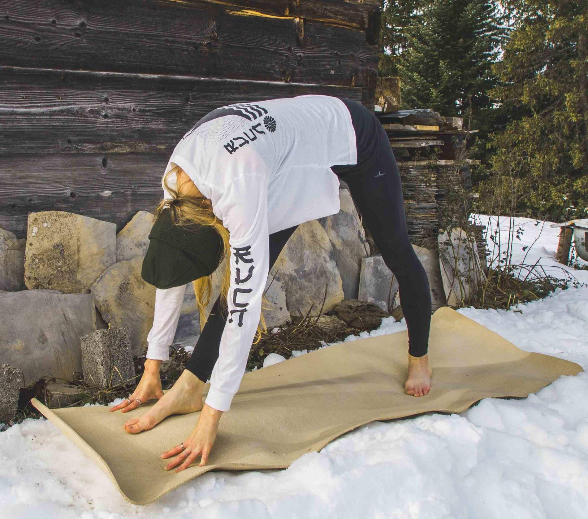 Pyramid Pose (© Wild Path Yoga)