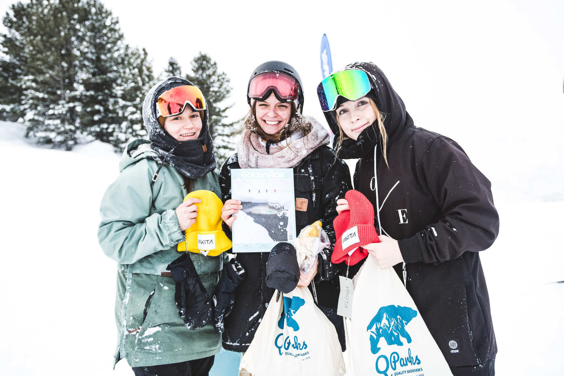 girls shred session obergurgl goodies