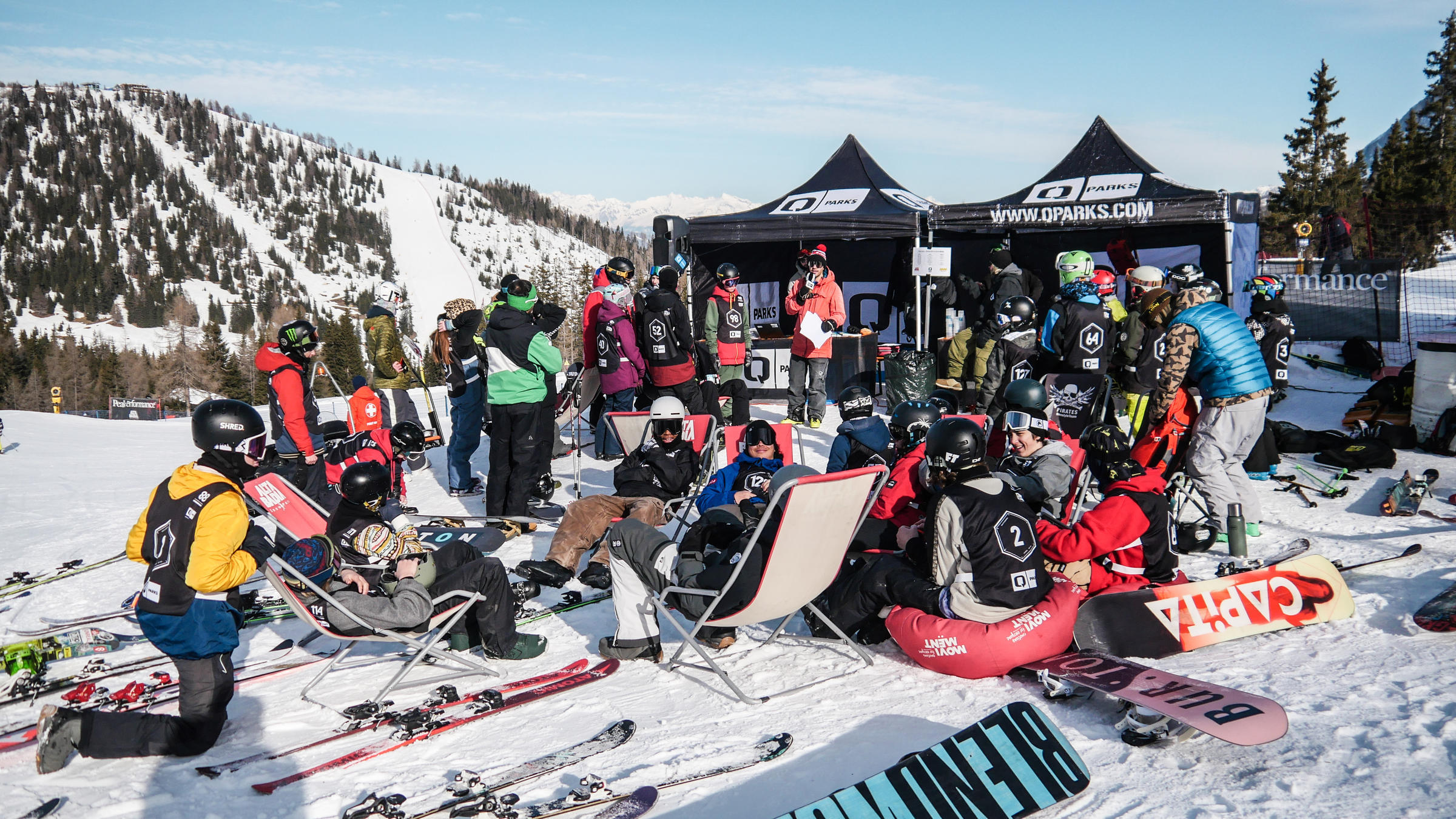Rookie Battle Alta Badia: The next generation at Snowpark Alta Badia