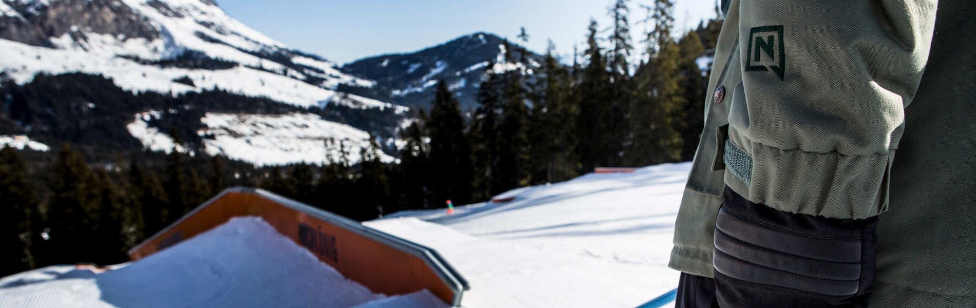 Wenn sieben Nationen einen Snowpark bauen