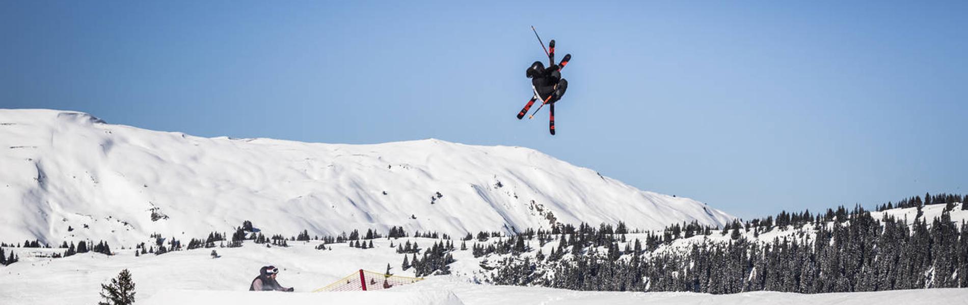 Snowpark Kitzbühel: Zwischen Spaß und Ernst ist alles Freestyle