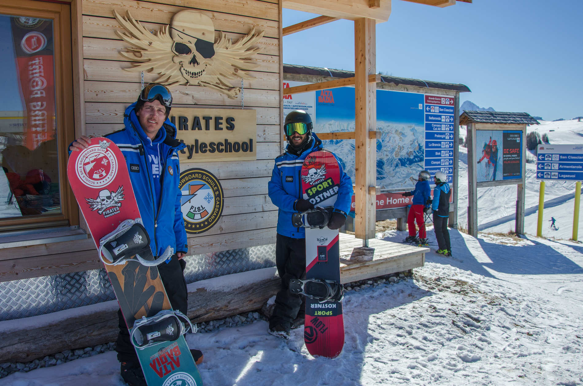 Die Pirates im Gespräch - Lux und Altin über Freestyle in den Dolomiten - Part TWO