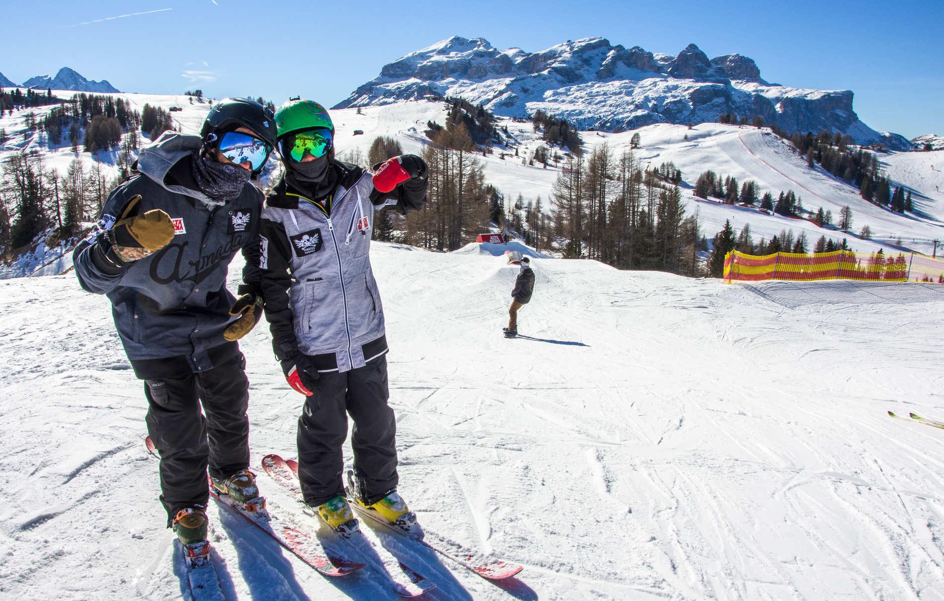 Die Pirates im Gespräch – Lux und Altin über Freestyle in den Dolomiten - Part ONE
