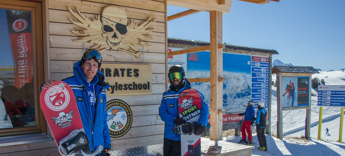 Pirates Interview – Lux and Altin talk about Freestyle in the Dolomites - Part ONE