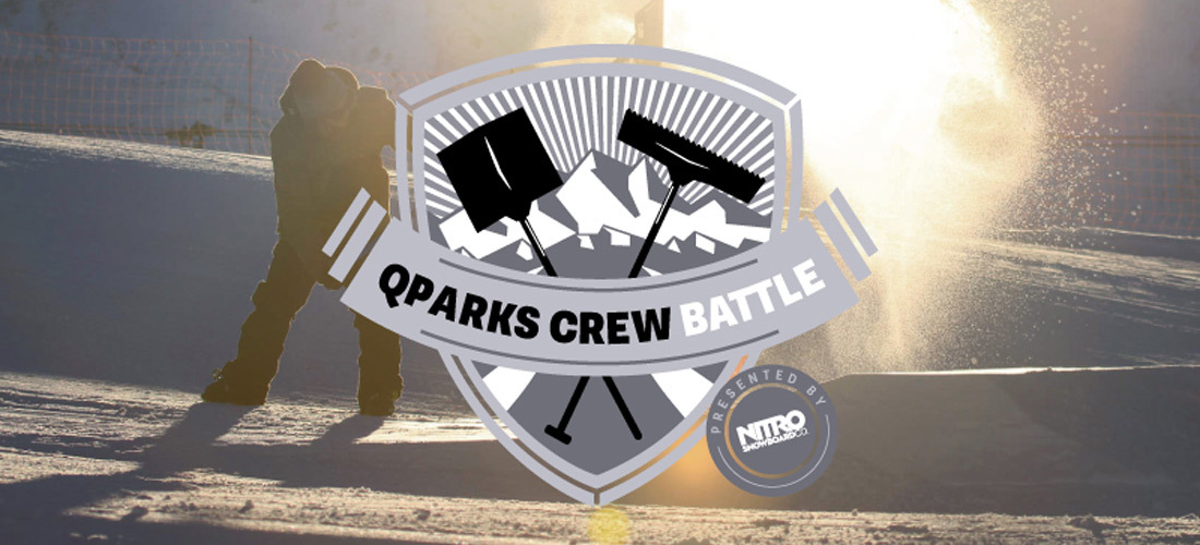 QParks Crew Battle presented by NITRO - We need your SUPPORT!