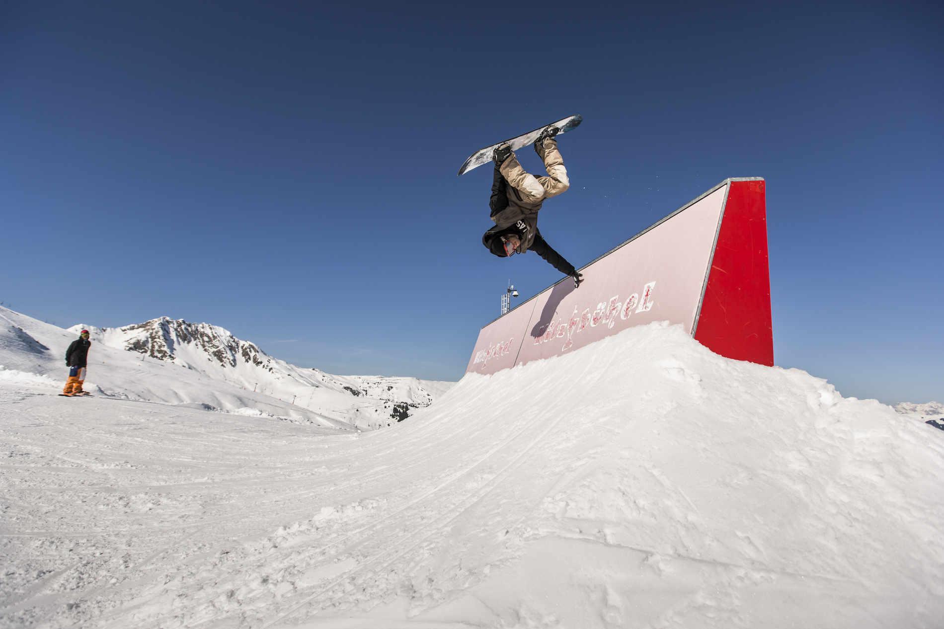 Hightech im Snowpark Kitzbühel – Passion, Profession, Perfektion