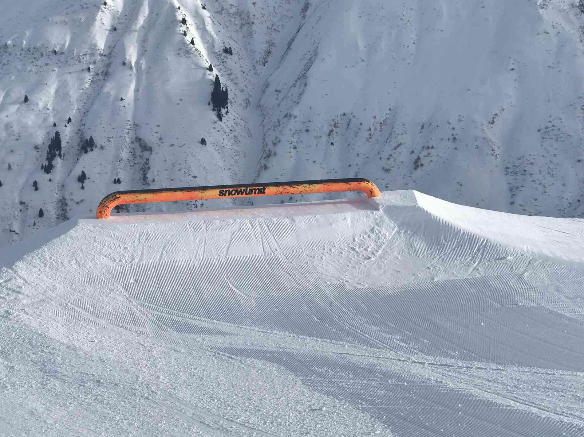 Snowpark Rail Flat 6m