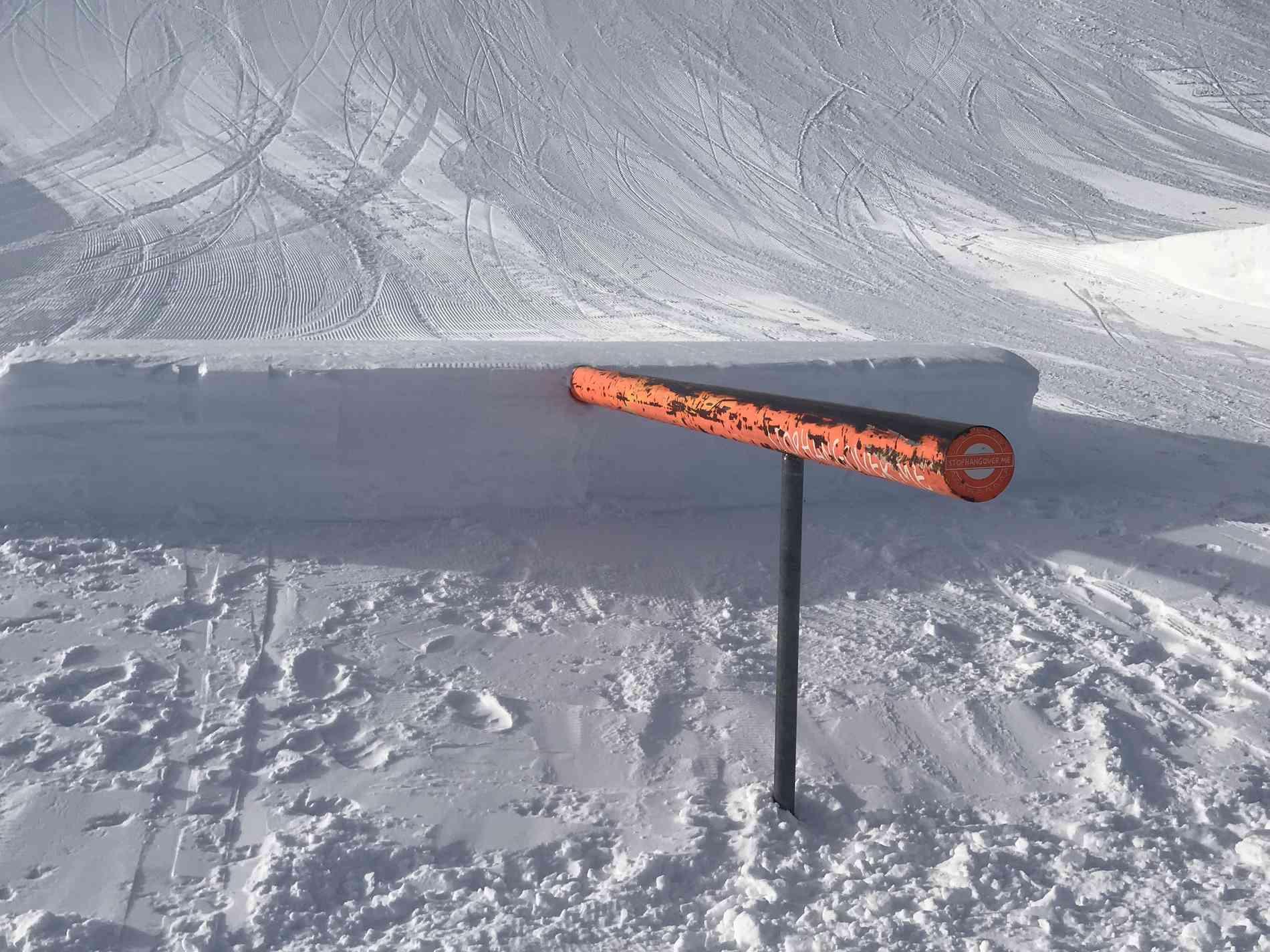 Snowpark Rail Up 4m
