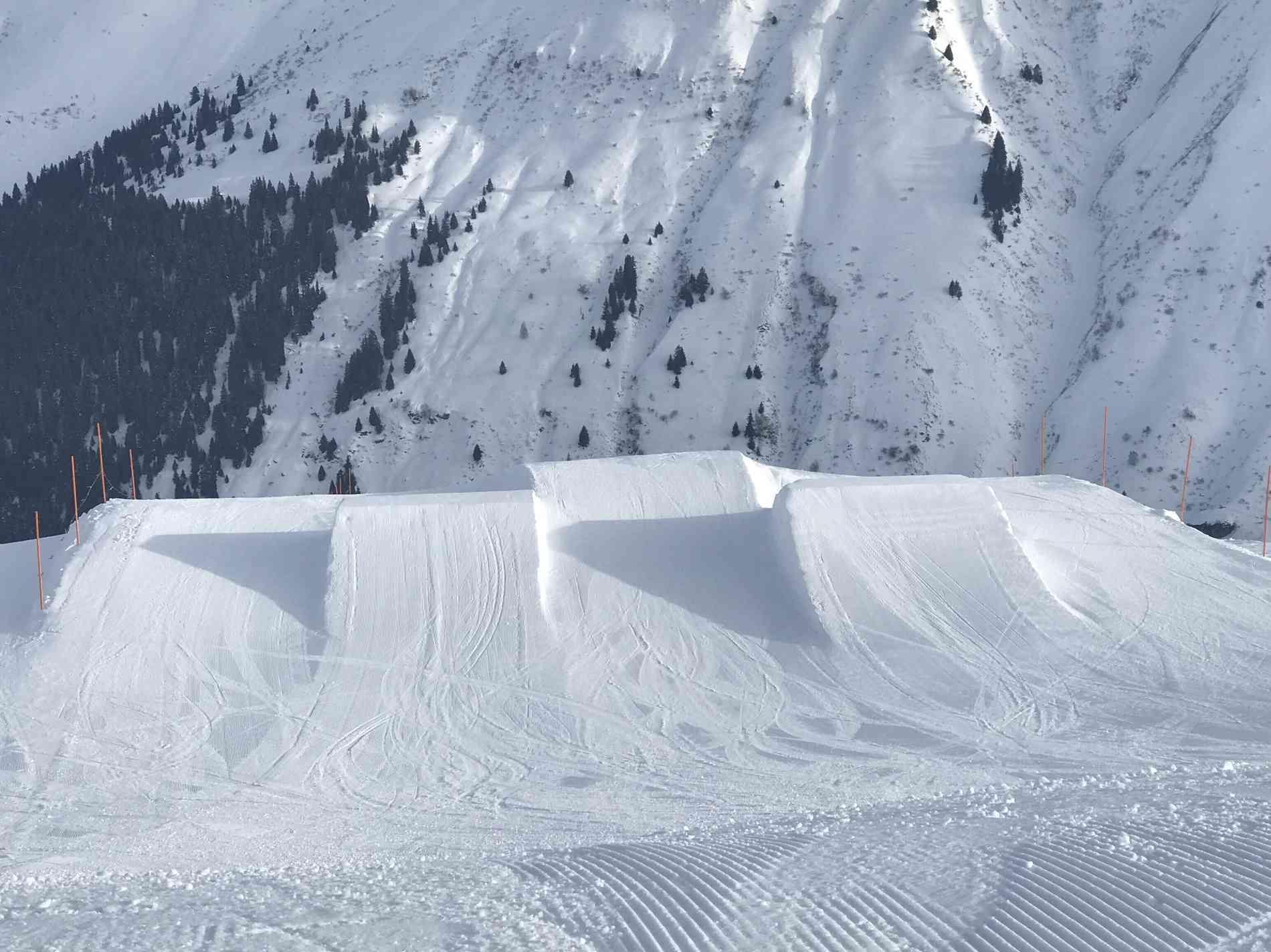 Snowpark Jump Kicker 7&10m