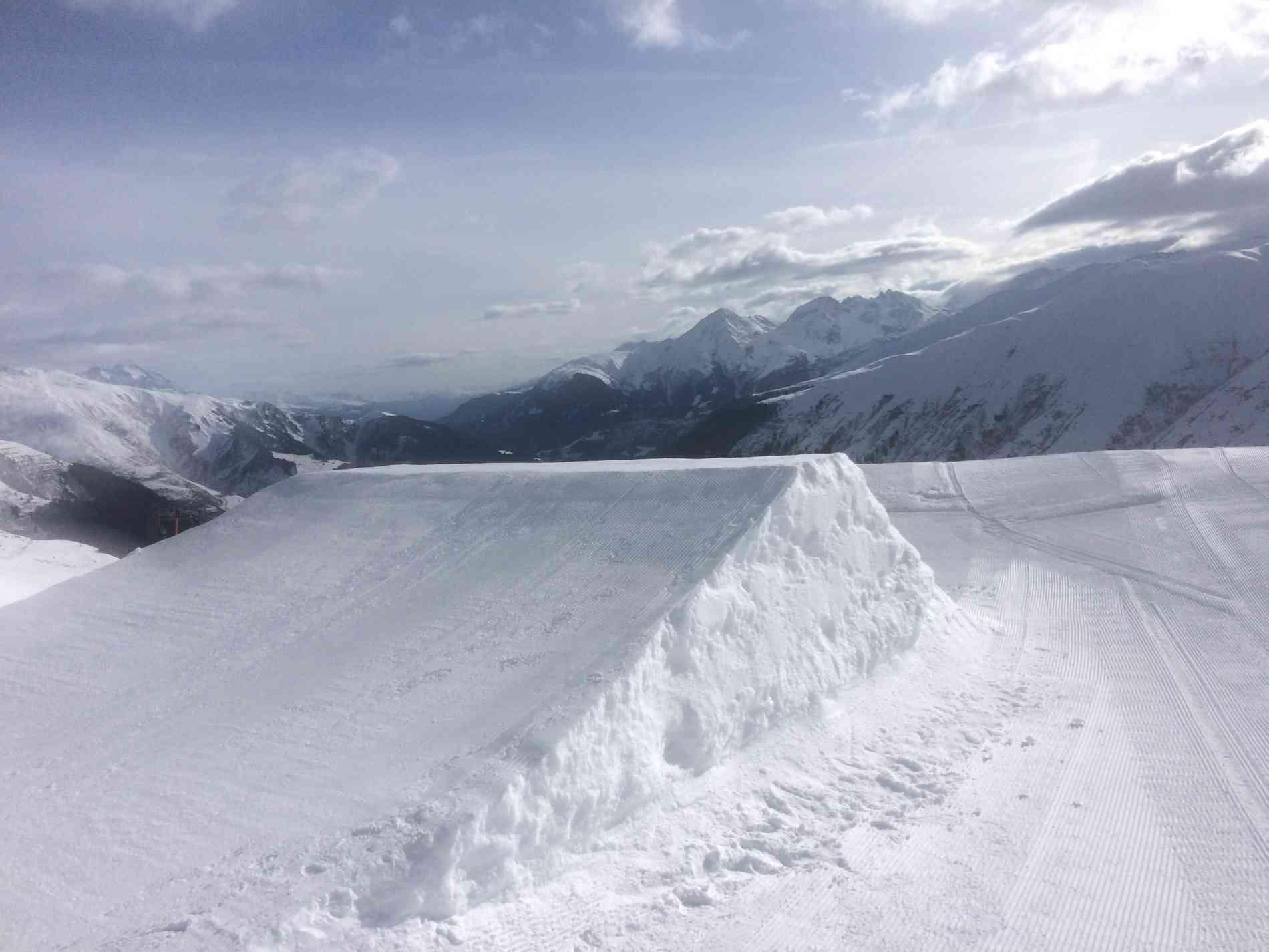 Snowpark Jump Kicker 6&7m