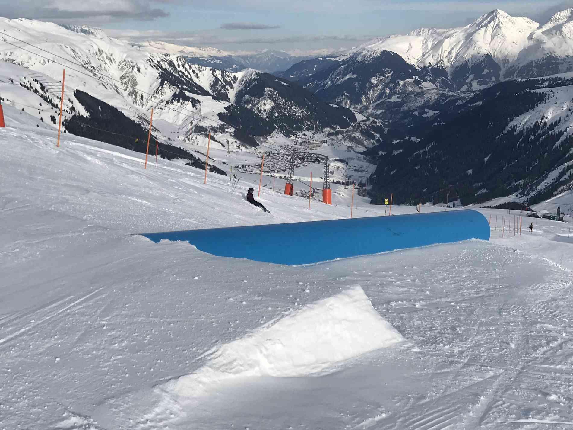Snowpark Tube Flat 6m