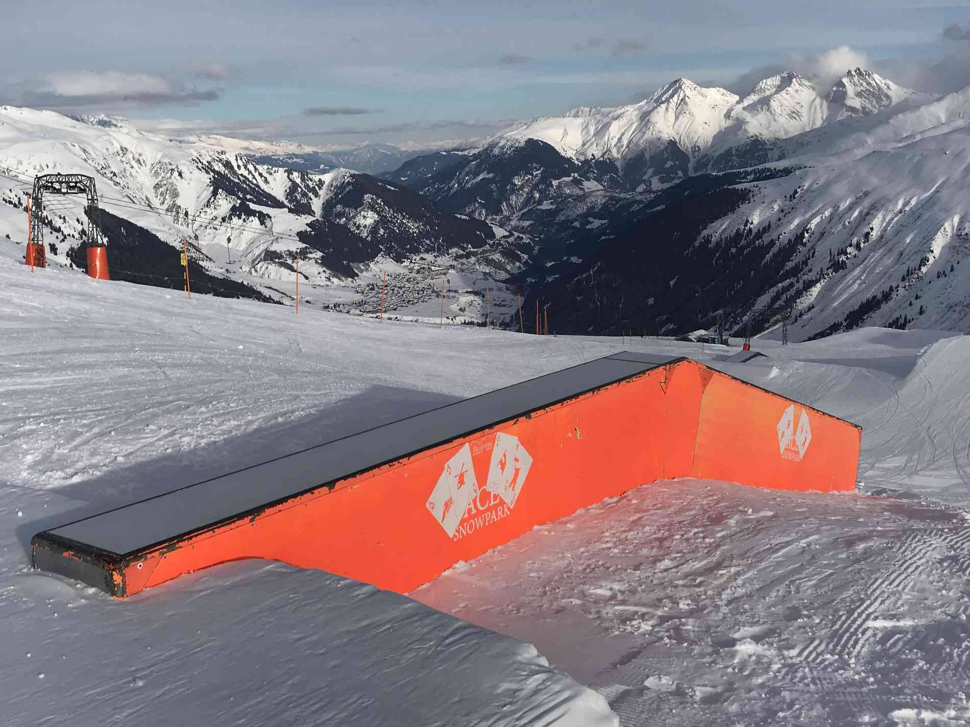 Snowpark Box Flat/Down 8m