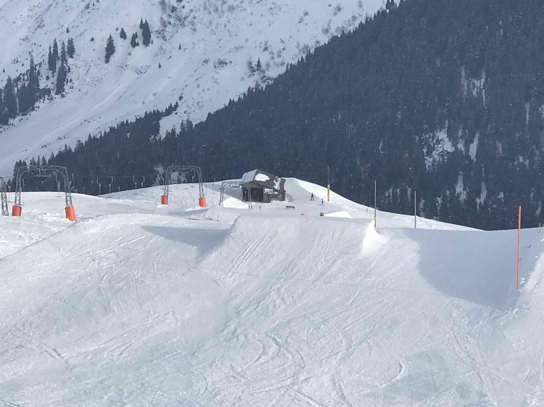 Snowpark Jump Kicker 2&3&4m