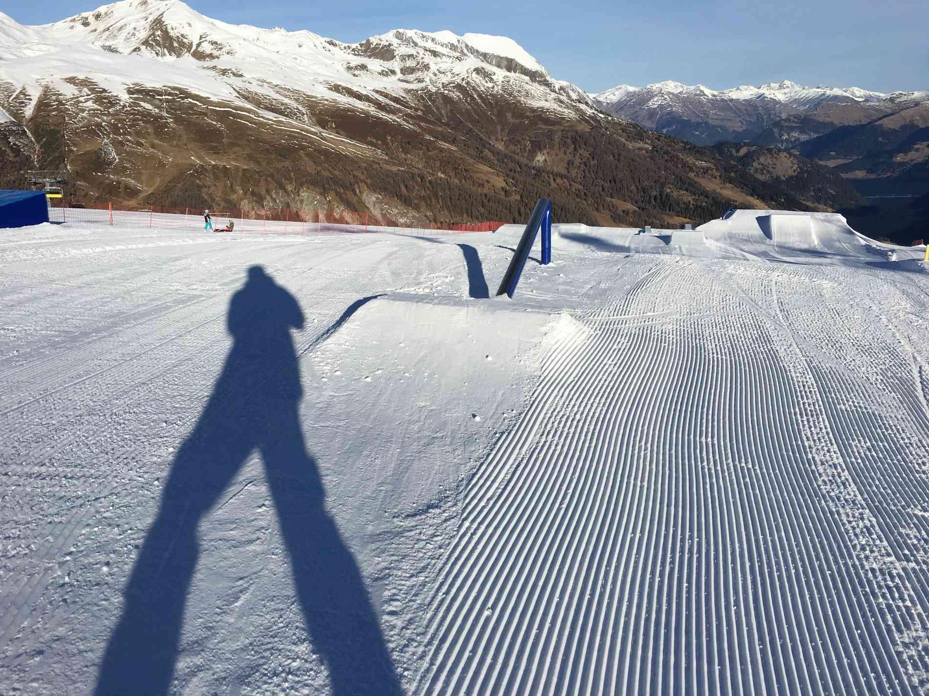 Snowpark Rail Up 2m