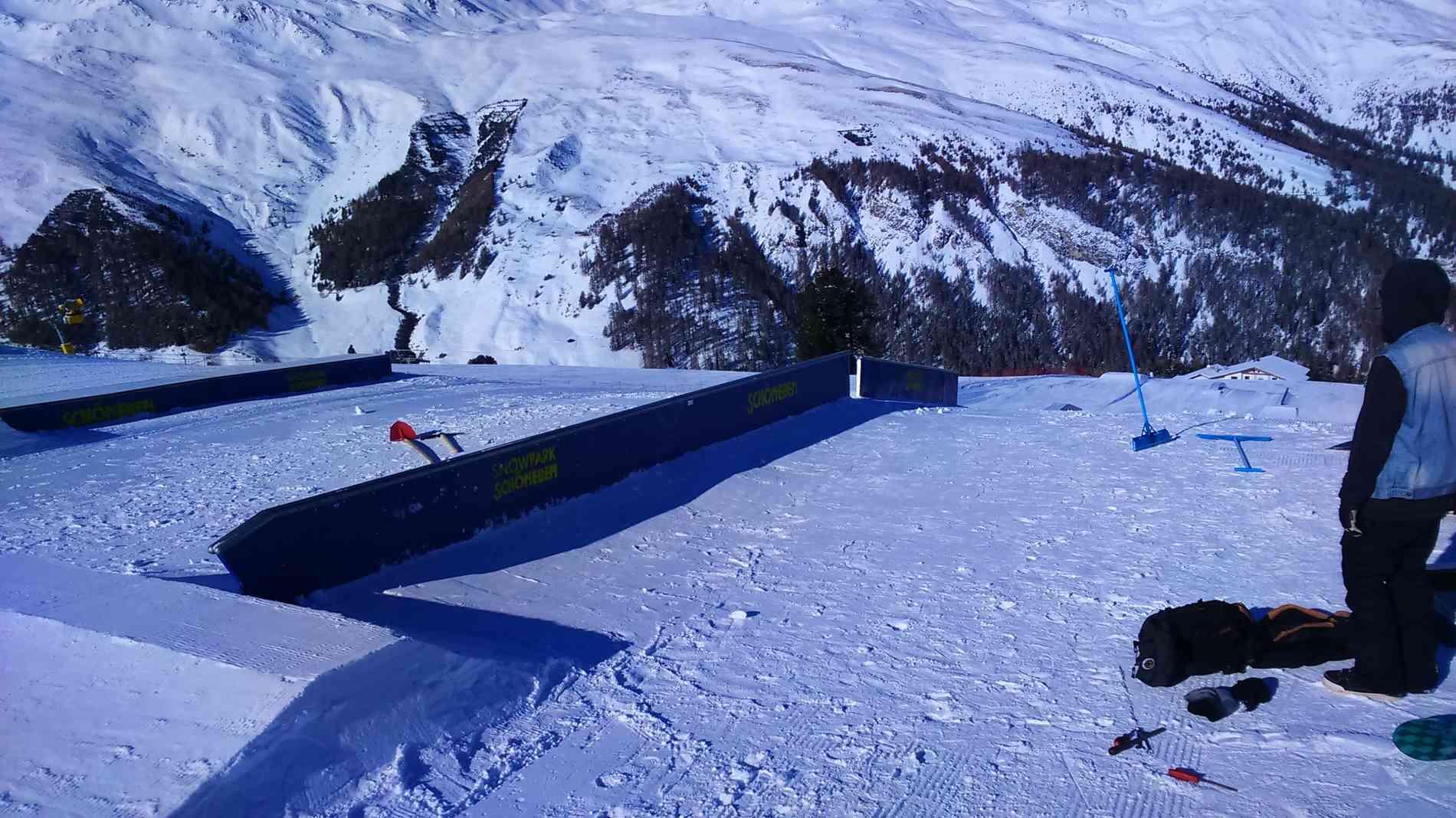 Snowpark Rail Flat/Down 11m