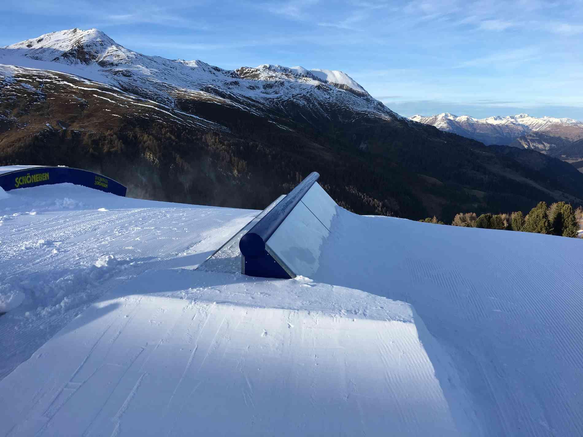 Snowpark Jib Multi Jib 7m