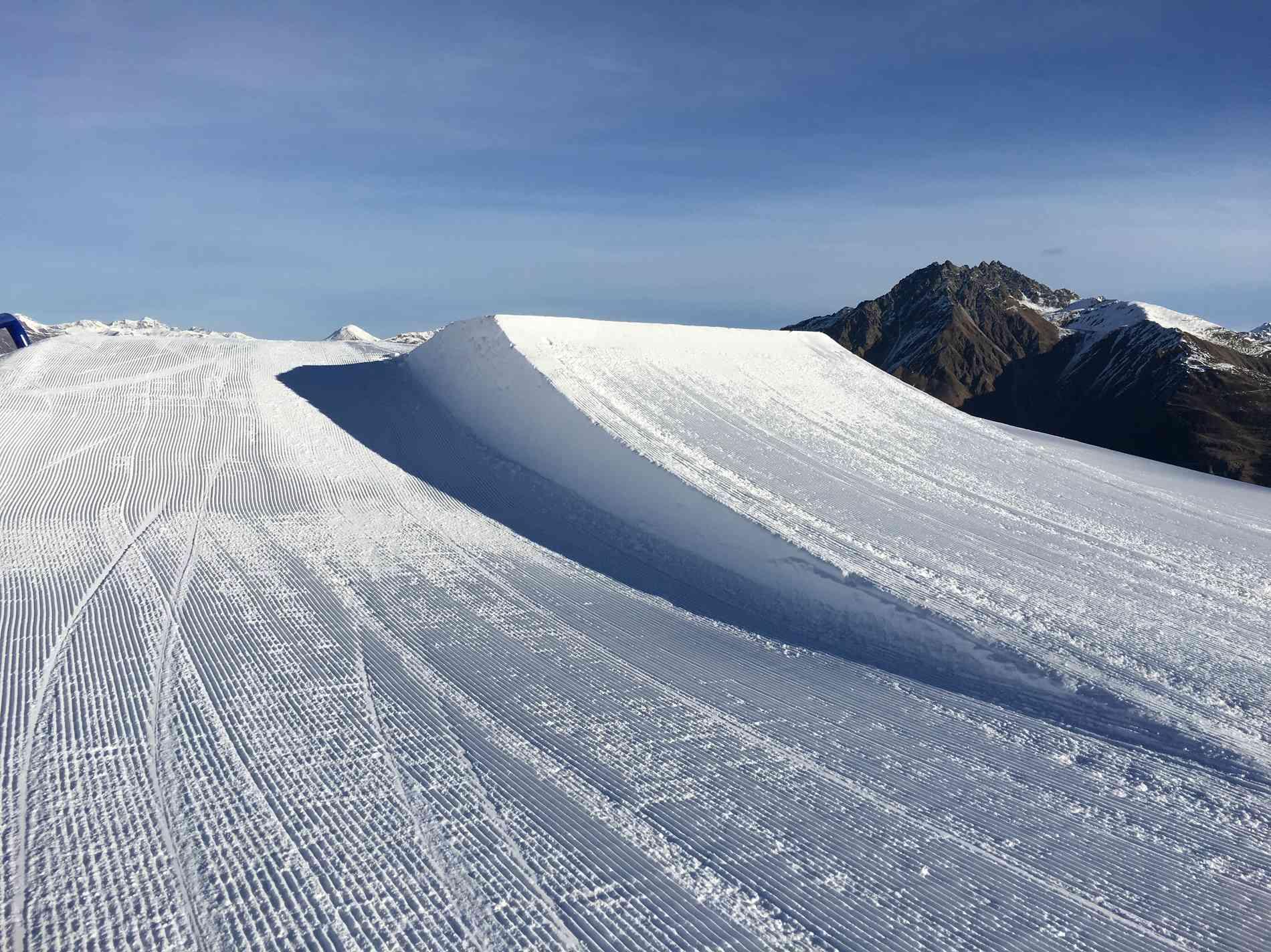 Snowpark Jump Kicker 9m