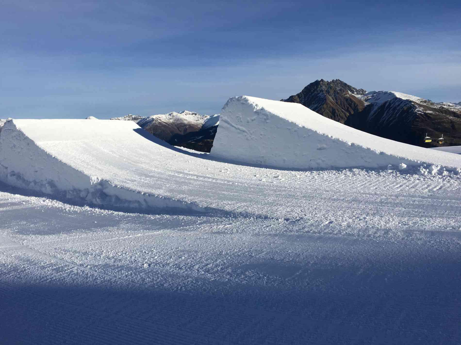 Snowpark Jump Kicker 13m