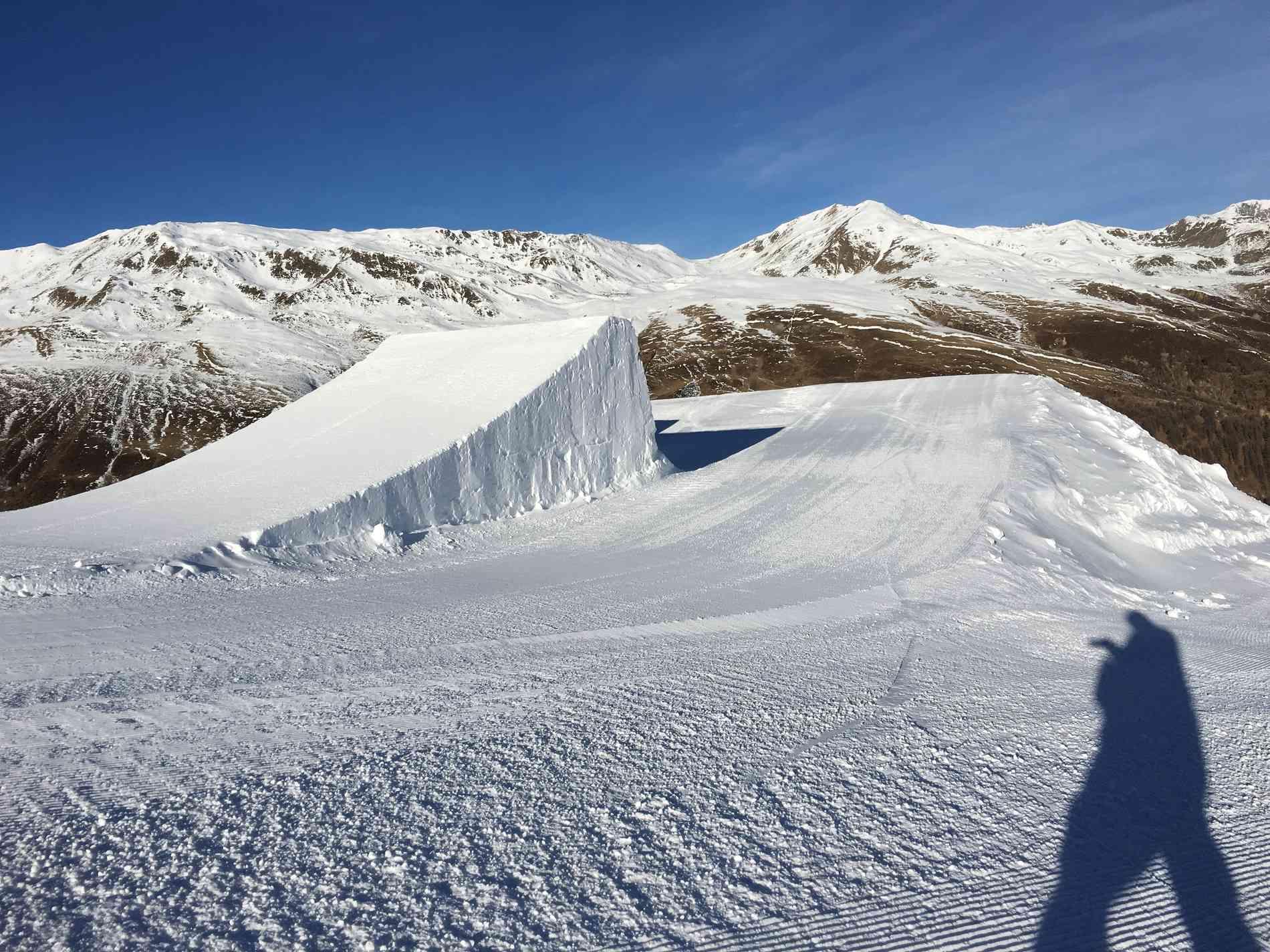 Snowpark Jump Kicker 16m