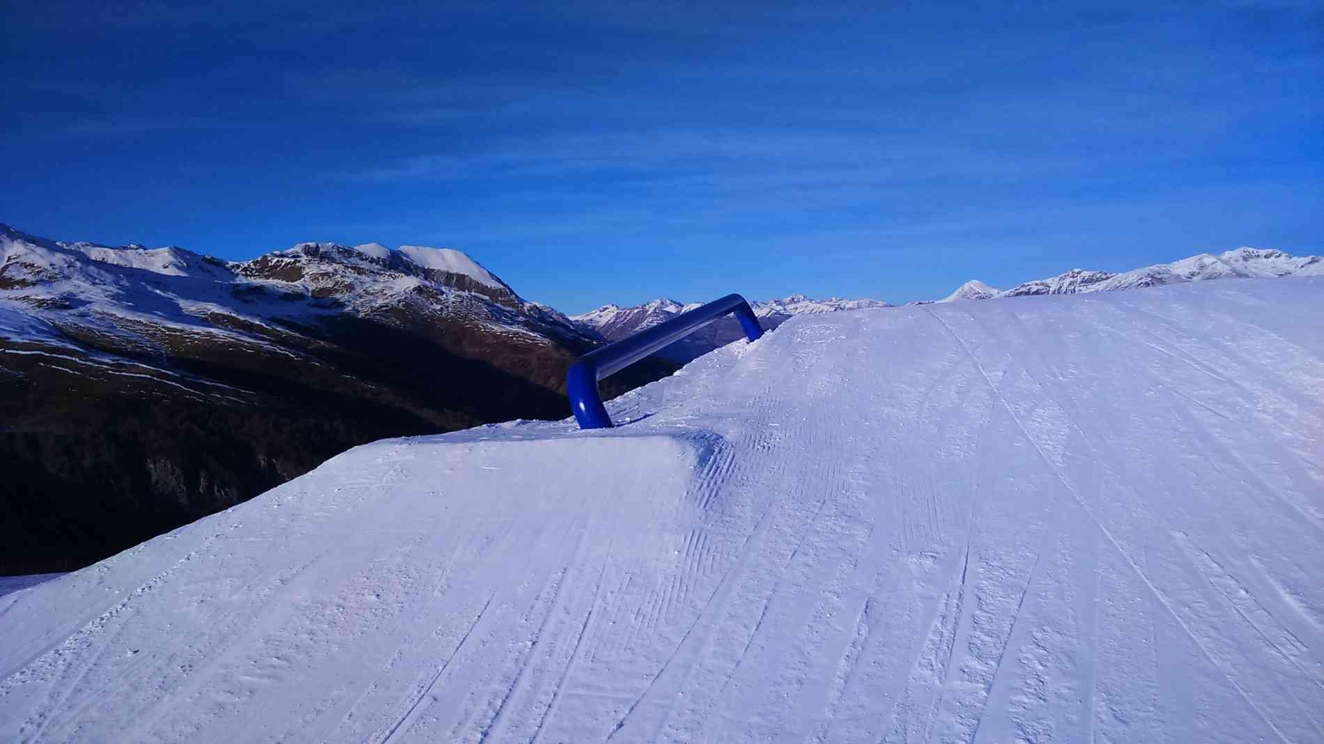 Snowpark Rail Industry High 8m