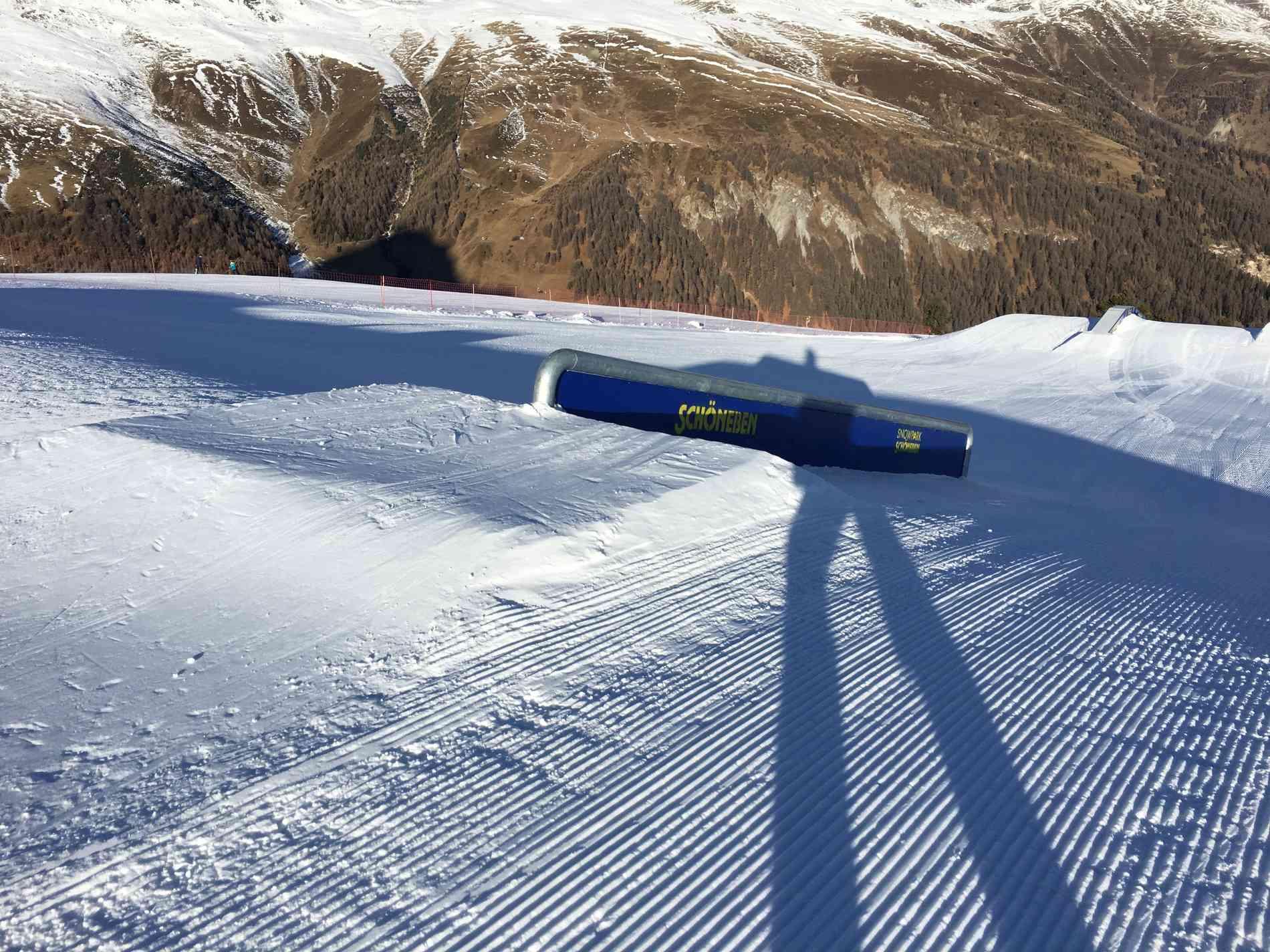 Snowpark Rail Down 8m